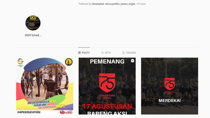 AKSI, Asosiasi Kalistenik & Street Workout Indonesia.