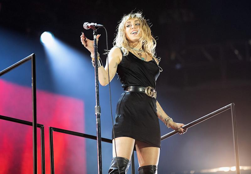 Miley Cyrus groped by man amid fan mob in Spain