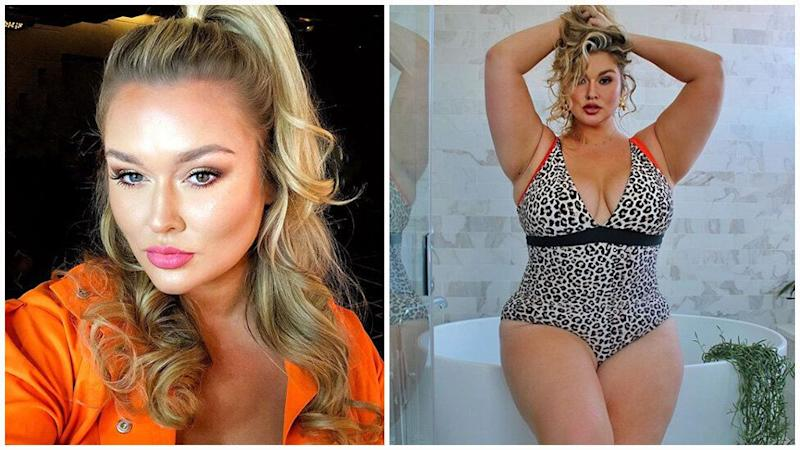 Hunter McGrady is the curviest woman to have ever appeared in the in Sports Illustrated swimsuit issue