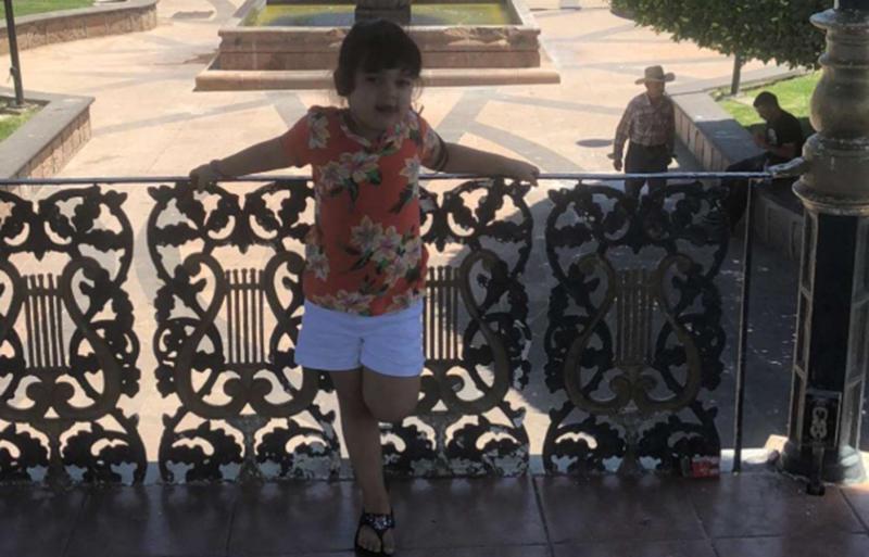 Jenessy 'Sophia' Villalpando was thrown from a carnival ride inMexico.