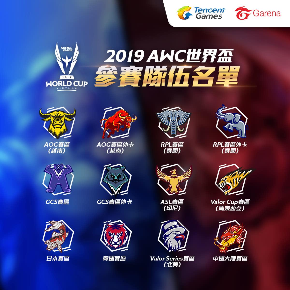 本屆AWC世界盃首次加入日本賽區。