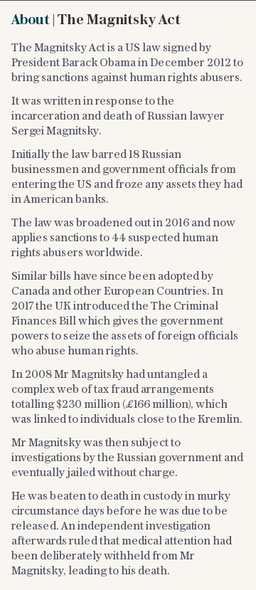 About | The Magnitsky Act