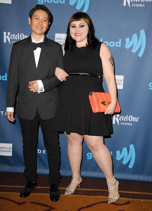 Gossip Frontwoman Beth Ditto Shows Off Svelte New Figure at GLAAD Awards