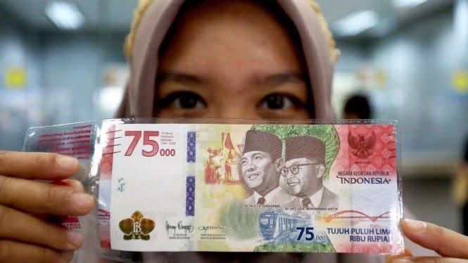 Penukaran Uang Khusus Kemerdekaan Rp75 Ribu Bisa Secara Kolektif