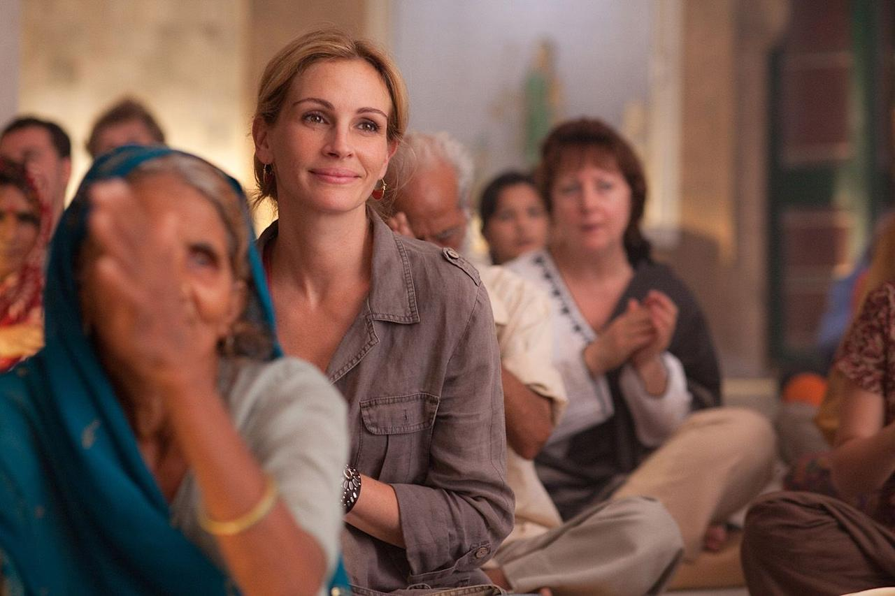 """<p>Self-love is the best form of love to practice after getting out of a relationship, and a viewing of this empowering Julia Roberts film about a woman who travels the world after a painful divorce is a great place to start.</p><p><a class=""""body-btn-link"""" href=""""https://www.amazon.com/Eat-Pray-Love-Julia-Roberts/dp/B00493AD74/ref=sr_1_1?crid=ZY4FNTC7NOB&keywords=eat+pray+love&qid=1580935471&s=instant-video&sprefix=eat+pray%2Cinstant-video%2C164&sr=1-1&tag=syn-yahoo-20&ascsubtag=%5Bartid%7C10063.g.30755366%5Bsrc%7Cyahoo-us"""" target=""""_blank"""">WATCH NOW</a></p>"""