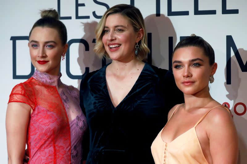 "FILE PHOTO: Premiere of the film ""Little Women"" in Paris"