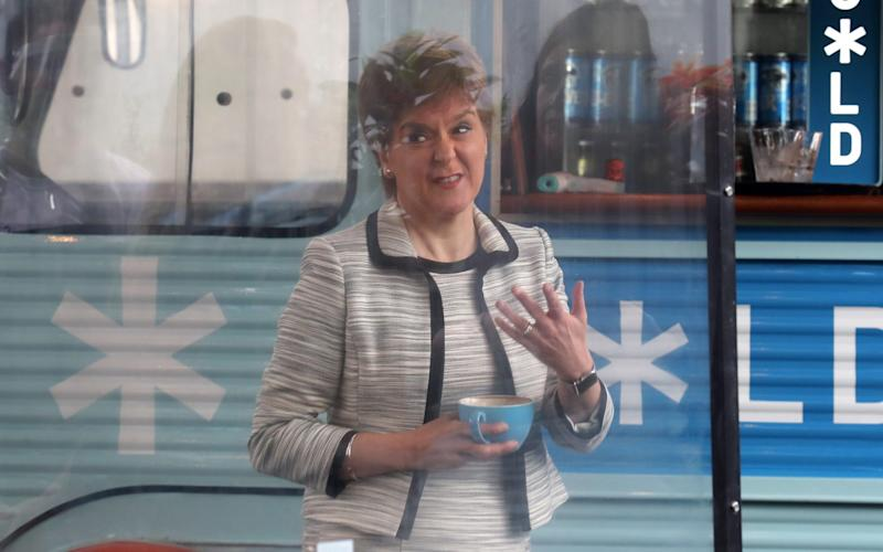 The First Minister pleaded with the public to follow the rules - Getty Images Europe/pool