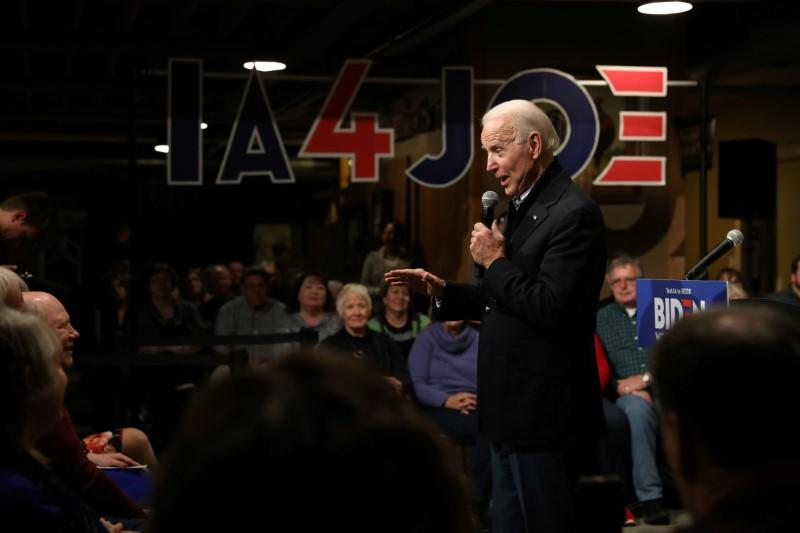 In tight race, new polls show Biden on top in Iowa, New Hampshire