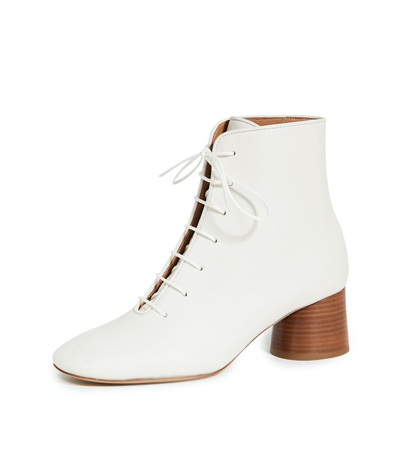 Mansur Gavriel Soft Lace Up Boots. Image via Shopbop.
