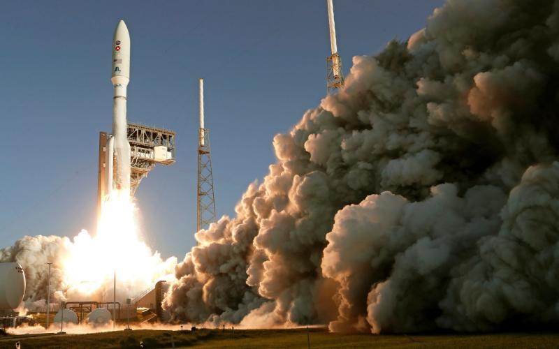 The NASA rover launches in Florida - John Raoux/AP