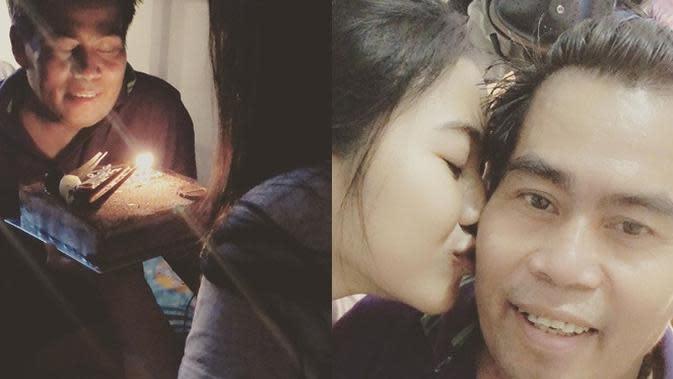 Momen Kebersamaan Bopak Castello dan Istri (Sumber: Instagram/bopakcastello_new)