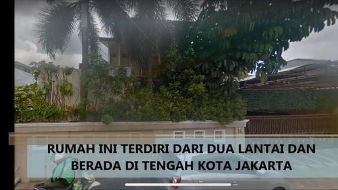 Rumah Rhoma Irama di Jakarta. (Youtube Andi Istiabudi)