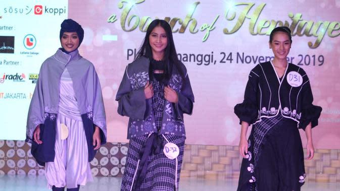 Miss Grand Indonesia jadi juri ajang pencarian model. (Foto: Dok. Plangi Model Hunt)