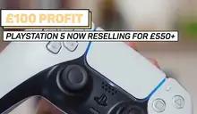 英國黃牛網站靠轉賣 3500 台 PS5 獲利超過 7886 萬,高調 FB 發聲明:絕不後悔