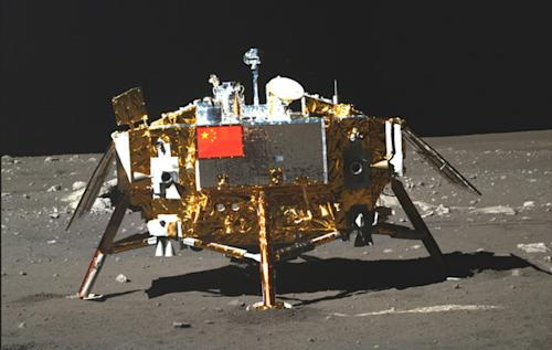 China Moon Rover Hits Snag in Big Lunar Science Mission