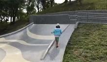 設計「看攏嘸」 羅東運動公園滑梯動線亂