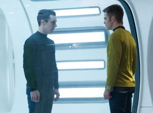 CinemaCon: 'Star Trek Into Darkness' Footage Has Kirk, John Harrison Forming Uneasy Alliance