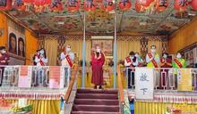 行動佛殿環島113站駐錫台南鹽水 民政局長顏振標親臨祈福