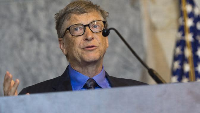 Pendiri perusahaan raksasa Microsoft, Bill Gates (AFP PHOTO/SAUL LOEB)