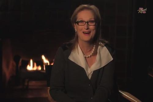 Meryl Streep: Hemsworth Brothers Are 'Hot as F—,' Jimmy Kimmel Is 'Little B—h' (Video)