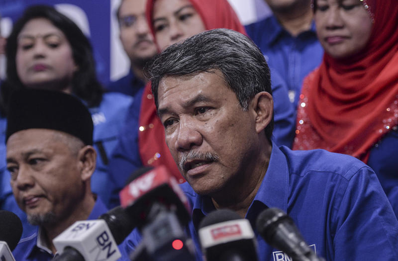 Tok Mat said Umno will focus its energy and time on helping the people, instead of getting involved in matters that tarnishes a person's reputation. — Picture by Shafwan Zaidon