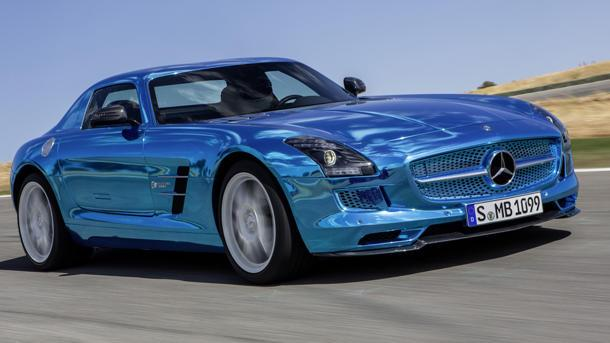 Mercedes-Benz SLS AMG Electric Drive offers shocking performance — and prices