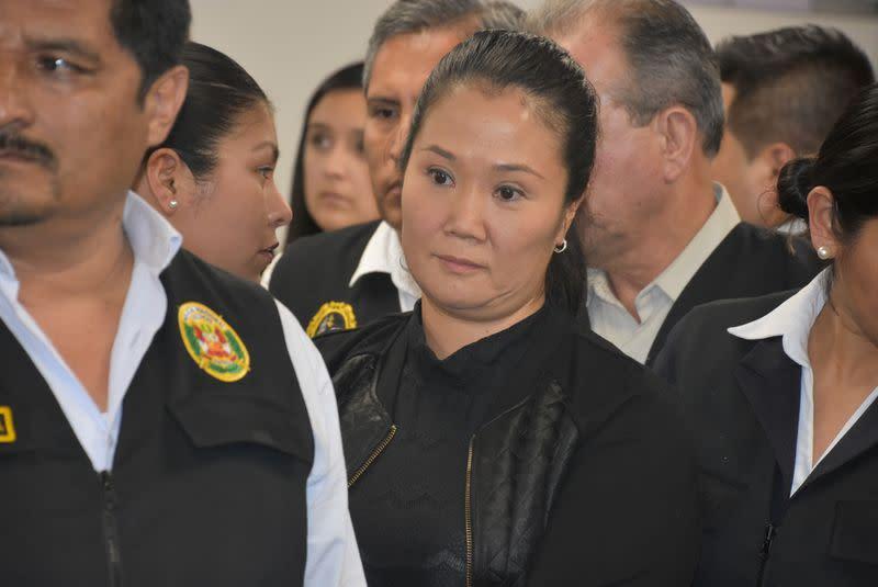 Peru's Keiko Fujimori to be freed from prison during graft investigation