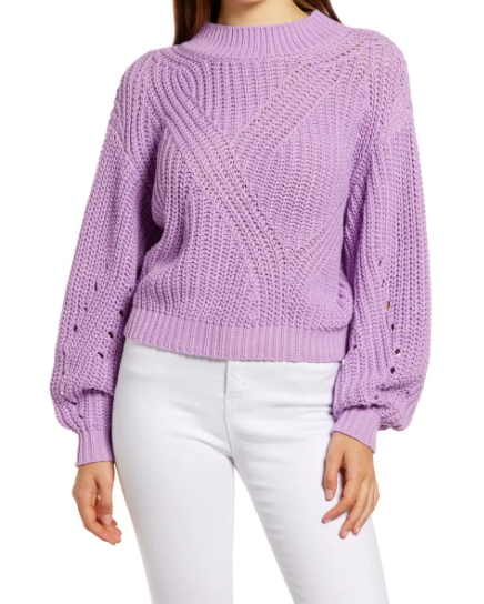 BP. Traveling Stitch Sweater (Photo via Nordstrom)