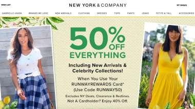 女裝品牌New York & Co母企申請破產 百家店面恐永久關閉