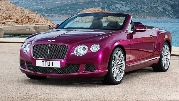Bentley Continental GT Speed Convertible offers 202 mph of topless fun