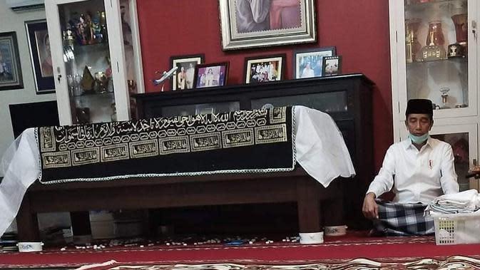 Prosesi Pemakaman Ibunda Jokowi (Sumber: Instagram//visitsurakarta/)