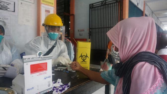 Pertamina Bantu 2000 Alat Rapid Test untuk Kabupaten Kebumen