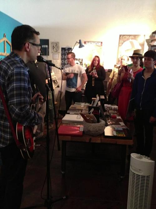 Fred Armisen Celebrates Record Store Day With Punk-Covers Instore Gig