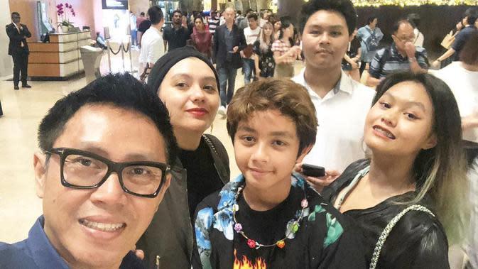 Potret ganteng Cannavaro Adrevi Purnomo Putra anak bungsu Eko Patrio. (Sumber: Instagram/canavaroekopatrio/tagged)