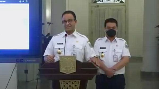 PSBB Ketat, Anies: Kasus COVID-19 di DKI Jakarta Meningkat Signifikan 12 Hari Terakhir