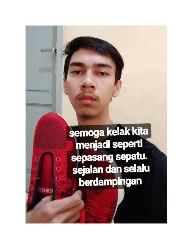 Quotes Kocak Baihaki Muhammad (Sumber: Instagram/mbaihaki03)