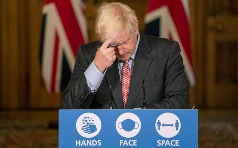Boris Johnson has been urged by senior MPs to look again at the restriction - Jack Hill/AP
