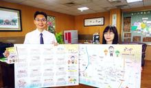 六甲發表悠活之旅觀光地圖