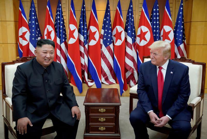 North Korea says little reason to maintain Kim-Trump ties: KCNA