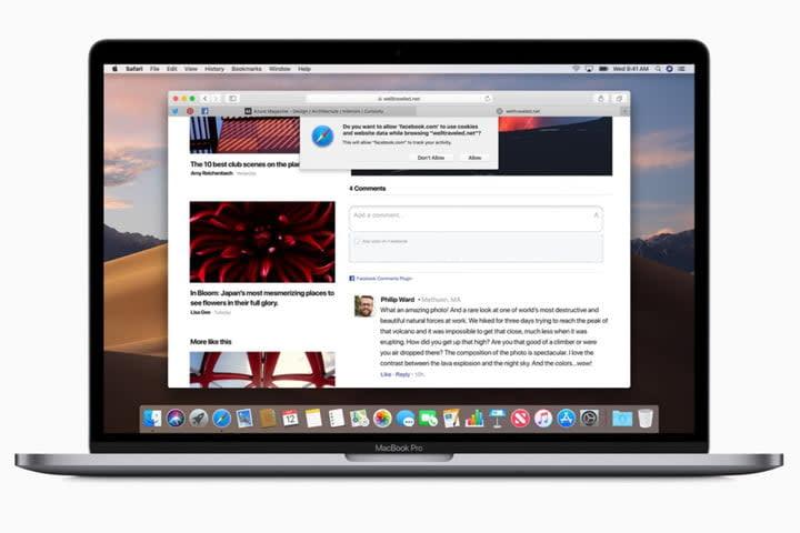 Apple screenshot of Safari browser