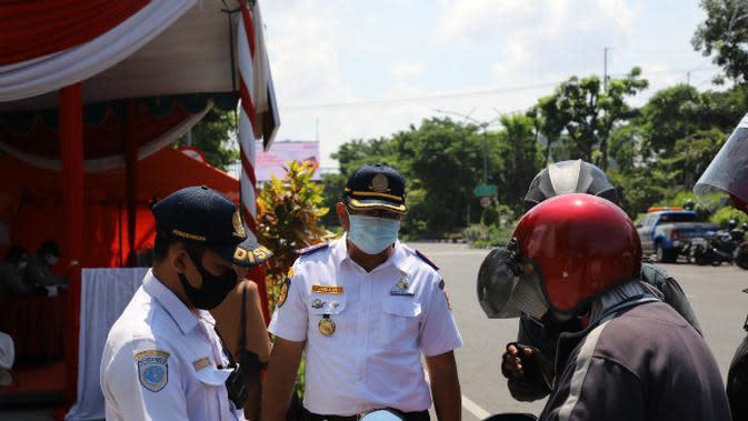 Penjagaan 17 Titik Perbatasan Surabaya Diperketat Jelang Idul Fitri