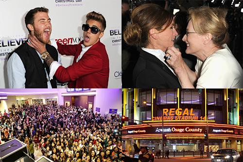 Justin Bieber's 'Believe' vs. Meryl Streep and Julia Roberts' 'August: Osage County: Final Premieres of 2013