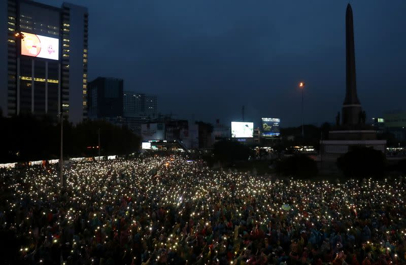 Thai police seek probe of media over protests - document