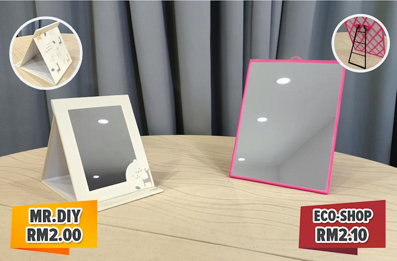 Complete your vanity table on a budget with these affordable mirrors.