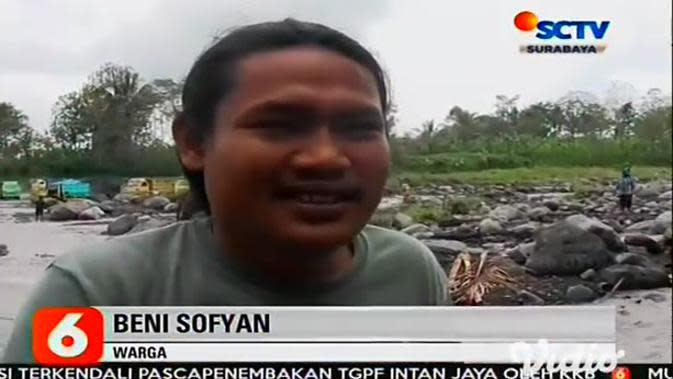 VIDEO: Banjir Lahar Dingin Gunung Semeru Terjang 3 Daerah Aliran Sungai