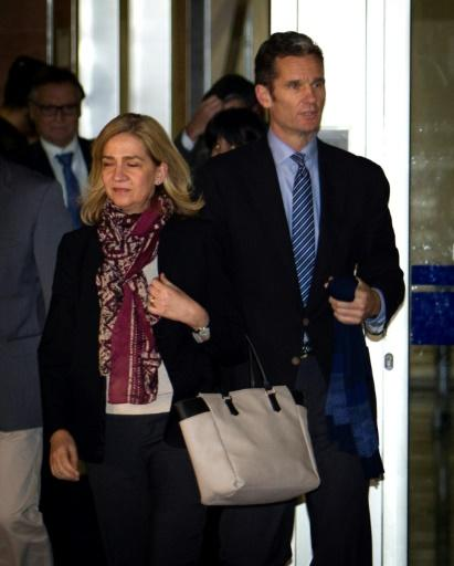Princess Cristina and Inaki Urdangarin were stripped of their titles of duke and duchess of Palma
