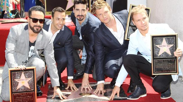 Backstreet Boys Immortalized on Hollywood Street