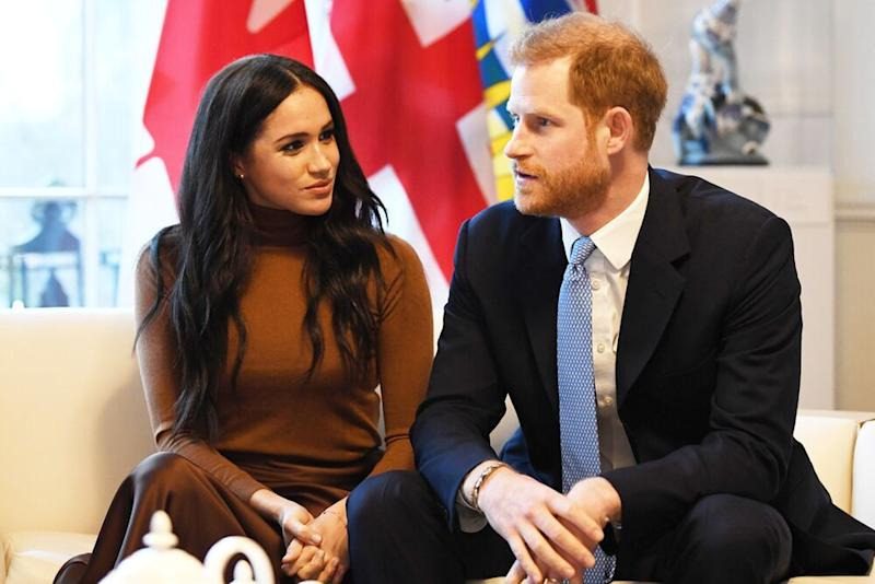 Meghan Markle and Prince Harry | DANIEL LEAL-OLIVAS/AFP via Getty
