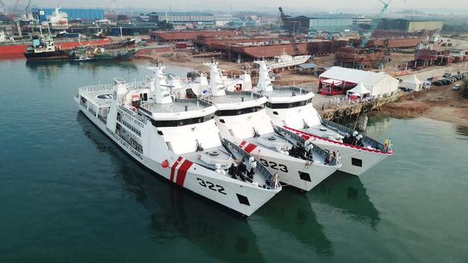 Bakamla Usir Cost Guard China di Laut Natuna