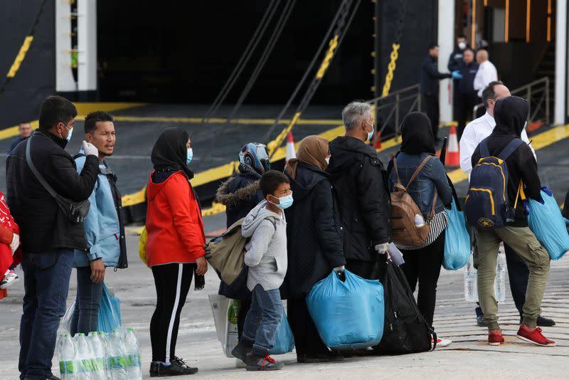 Greece finds 35 COVID-19 cases in Moria migrant camp